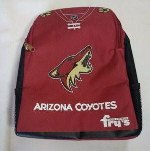Arizona Coyotes Red Lunch Bag Hockey Kids Fry's